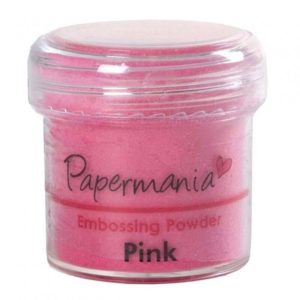 Пудра для тиснения PAPERMANIA, розовый