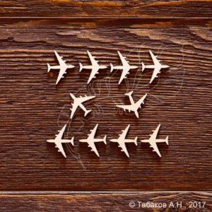 Чипборд Набор самолётики, артикул CB712, бренд Art Lines