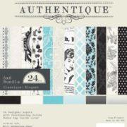 Набор бумаги Classique Elegant 15х15 см CLA011 Authentique