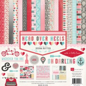 Набор бумаги Head over Heels 30х30 см HOH59016 Echo Park Paper/Carta Bella