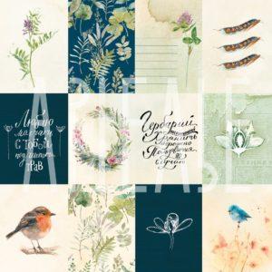 Лист «Птичьи трели» ARTPS30-12 АРТЕЛЬЕ