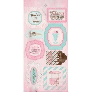Стикеры Authentique Sweetness 30х15 см