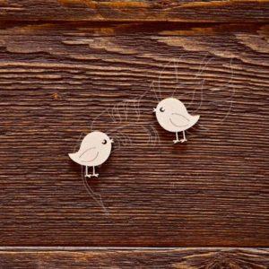 Чипборд маленькие птички
