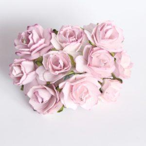 Роза кудрявая светло-сиреневая 2 см