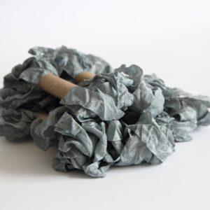 Шебби лента Серый