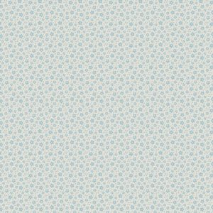 Ткань Тильда Ilse Light Blue отрез 27х50 см