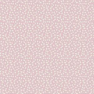 Ткань Тильда Leaves Berrie Pink отрез 27х50 см