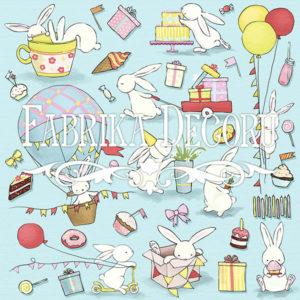 Лист для вырезания Bunny birthday party Фабрика Декору, артикул 02015-4