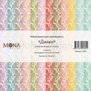 Набор бумаги Дамаск базовая коллекция MoNa Design