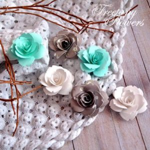 Цветы Freetany Flowers – 09 Аквамарин
