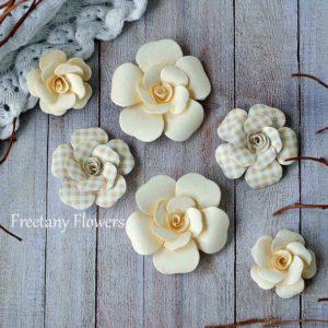 Цветы Freetany Flowers – 12 Ваниль