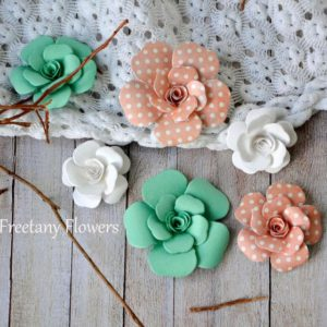 Цветы Freetany Flowers – 16 Коралл