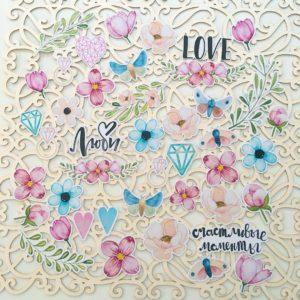 Набор высечек Love is in the air MoNa Design