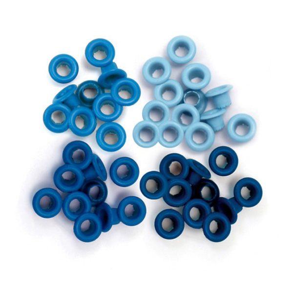 Люверсы BLUE We R Memory Keepers, 60 шт., артикул 41578-7