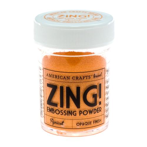 27136 Пудра для эмбоссинга матовая ZING Абрикос American Crafts