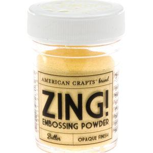 27138 Пудра для эмбоссинга матовая ZING Сливочный American Crafts