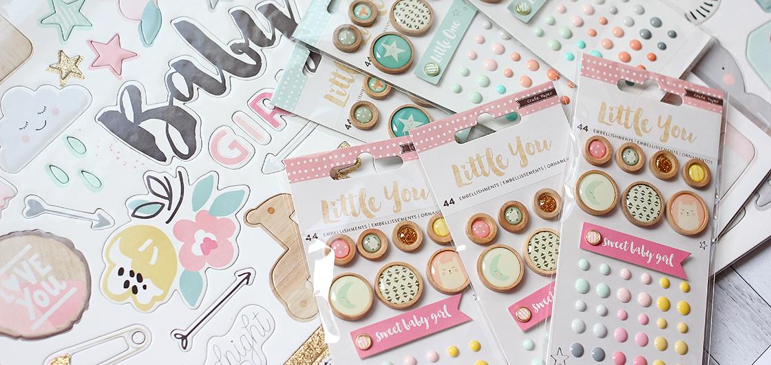 коллекция Little You от Crate Paper