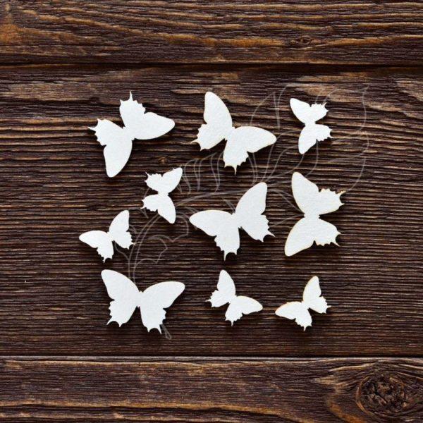 Чипборд Набор бабочек №2
