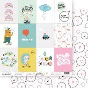 Лист 12 карточек Весело шагать Tea-Mood