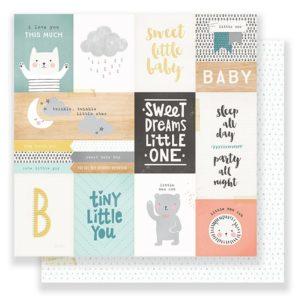Лист карточки Little You от Crate Paper (boy) 680370