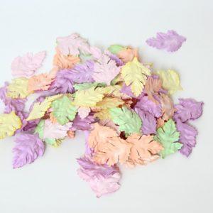 Листья шиповника без стебельков - пастельный микс