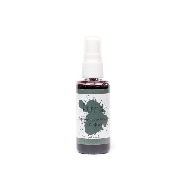 spray-30 Перламутровый спрей Графит Polkadot