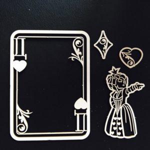 FD2055201 Набор чипборда Королева