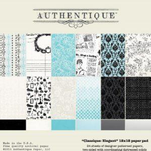 Набор бумаги Classique: Elegant 30*30 см, артикул CLA500