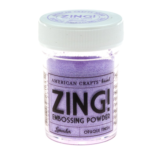 27133 Lavender Zing! Пудра для эмбоссинга матовая American Crafts (лаванда)