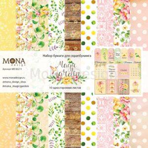 86211 Набор бумаги Magic Garden MoNa Design