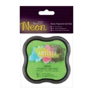Подушка штемпельная пигментная, Neon зелёный PMA550104