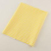 Ткань желтая в полоску