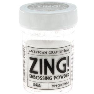 27124 White Zing! Пудра для эмбоссинга матовая