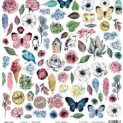 Лист Весна коллекция #Мастхэв Артелье, ARTMHС30-04