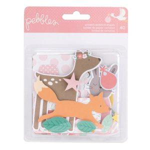 Высечки Lullaby - Girl от Pebbles 733516