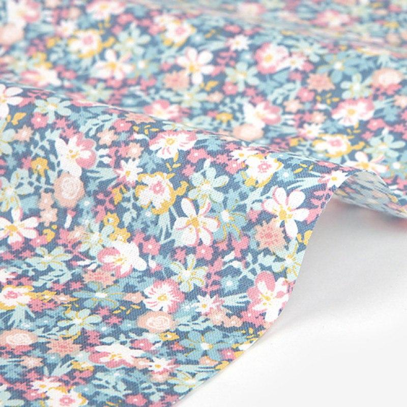 Ткань Daily Like DDF307 A tiny flower : dreamlike, 45х40 см, артикул DDF307