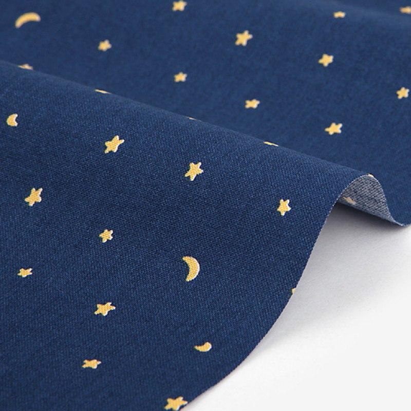 Ткань Daily Like DDF302 Owl family : twinkle sky, 45х55 см, артикул DDF302
