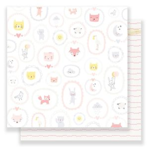 "Лист Little You ""Baby Girl"" от Crate Paper 680380"