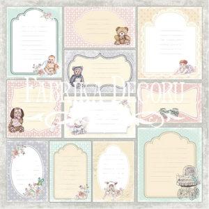 Лист Карточки Baby shabby (набор 2) 01011-2