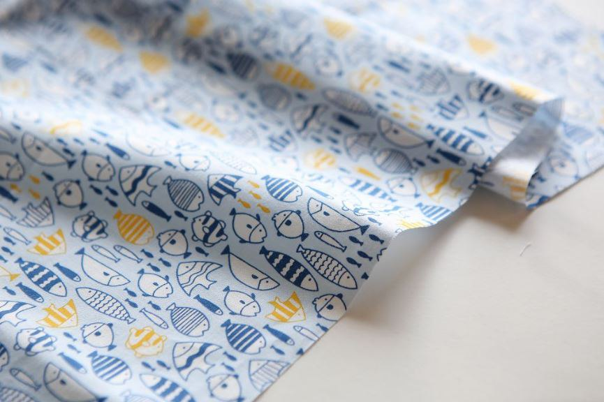Ткань Daily Like Snorkeling, 45х55 см, артикул DL-BAA-120