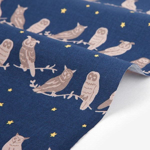 Ткань Daily Like DDF301 Owl family : owl family, 45х55 см, артикул DDF301