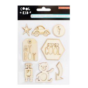 Деревянные украшения CP Cool Kid, артикул 680489