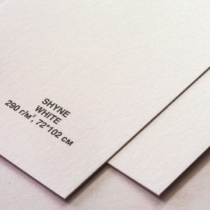 Дизайнерский картон SHYNE WHITE, артикул 6003076