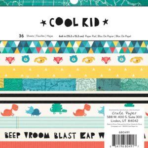Набор бумаги CP Cool Kid 15х15 см, артикул 680491