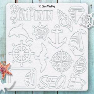 Чипборд SEA adventure #2 - Корабли, артикул 100262