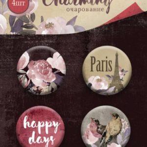 Фишки Charming (Очарование) от Scrapmir для скрапбукинга, артикул SM3300017