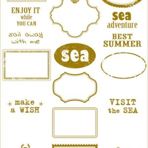 Калька SEA adventure - frames, артикул 100281