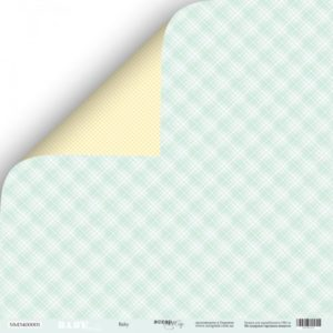 Лист Baby коллекция Smile Baby для скрапбукинга, артикул SM3400001