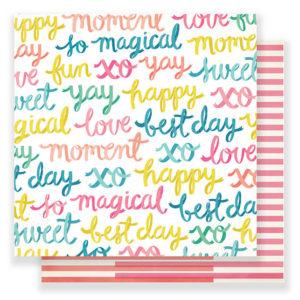 Лист Happy-Go-Lucky Carousel от Crate Paper, артикул 379092