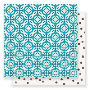 Лист Kaleidoscope Carousel от Crate Paper, артикул 379100